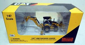1/87 HO Norscot Scale Models Caterpillar CAT 450E Backhoe Loader