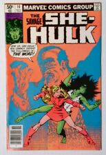 The Savage She-Hulk #10 (Nov 1980, Marvel) FN/VF