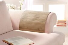 Lehnenschoner aus Bambus Sofatablett Ablage Armlehne Sofa, Farbe: timber 40x60cm