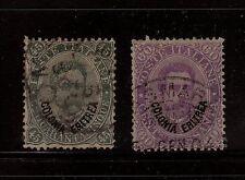 Eritrea (Italy)  8,9    used    catalog $83.00