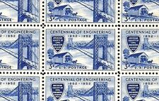 1952 - Civil Engineers - #1012 Full Mint -Mnh- Sheet of 50 Postage Stamps