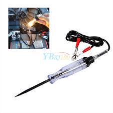 6V 12V 24V DC Auto Car Circuit Tester Test VoltMet Long Probe Pen Light Bulb