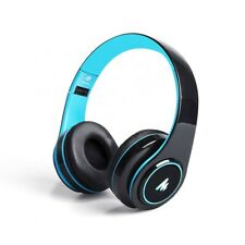 Portable Fold-able Wireless Bluetooth Headphones with 7 Colors LED