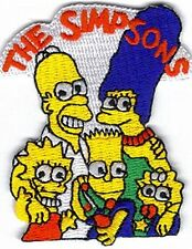cartoon the Simpsons family Embroidered Cartoon Iron On/ Sew On Patch