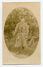 WW1. Carte photo . ZOUAVE . Clairon . Clarion