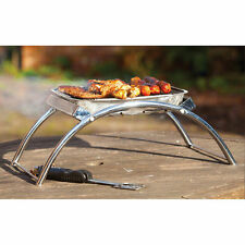 ASADO DUAL BBQ STAND (Portable Camping Barbecue Barbeque Barbie duel table Grill