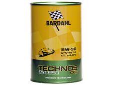 6 LITRI OLIO MOTORE BARDAHL TECHNOS C60 EXCEED 5W-30 TAGLIANDO AUTO