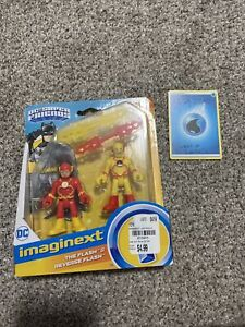 SHIPS FREE NEW Fisher-Price Imaginext DC Super Friends Flash Reverse Flash Pack