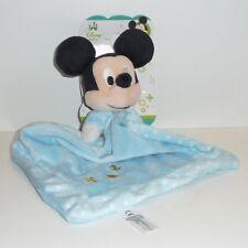 Doudou Souris Disney Nicotoy - Neuf - Bleu