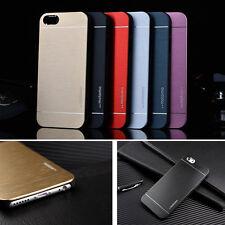 Aluminium Metall Handy Schutz Hülle Tasche Alu Case Cover Bumper Etui Gebürstet