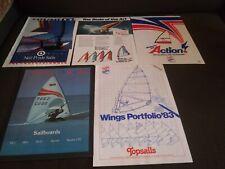 Lot of Vintage Windsurfing Sails Catalog Topsails Neil Pryde Sailrider