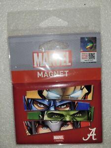 "NIP Wincraft Marvel Comics Avengers Alabama Crimson Tide Fridge Magnet 2.5""x3.5"""