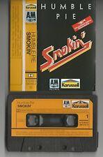 "HUMBLE PIE ""Smokin`""  Musikkassette/Tape A&M/Karussell"