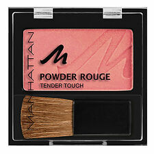 Manhattan APRICOT Pressed Powder Rouge Tender Touch Blush Blusher Compact