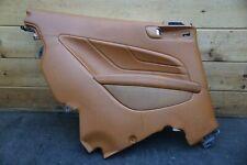 Rear Left Interior Quarter Panel Trim Brown Leather 83646112 Ferrari FF 2011-16