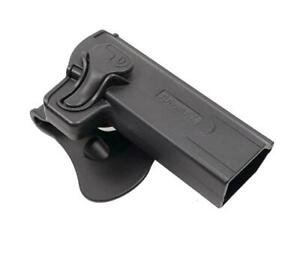 Amomax Roto Poly Holster STI Hi-Capa 2011 Series Pistols Black R/H #HCPG2 bb's