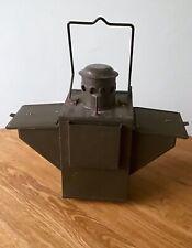 Vintage German Military Kerosene Lantern