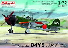 """AZ Model 1/72 Yokosuka D4Y5 """"Judy"""" IJN Bomber # 7630"""