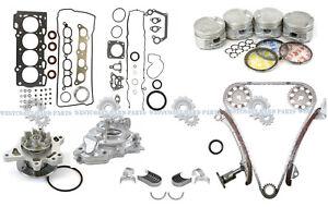 00-05 Toyota Celica GTS Corolla XRS 1.8L 2ZZGE Master Engine Rebuild Kit DOHC