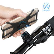 Bike Phone Holder Cycling Handlebar Bicycle Mount 360 Degree Rotating Bracket