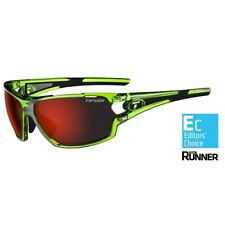 Tifosi Amok Crystal Neon Green Multi Lens Sunglasses - Clarion Red/AC Red/Clear