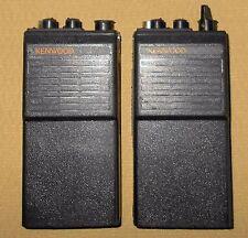 + 2 Kenwood TK-210 Handheld HAM Radio Transceivers Parts /Repairs Free Shipping