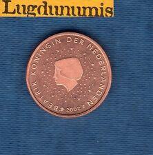 Pays Bas 2002 - 2 centimes d'Euro - Pièce neuve de rouleau - Netherlands