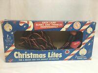 Vintage ACLA Christmas Lights Tested