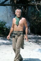 Lee Marvin, Great barechested shot on the set of Hell In The Pacific 8x12 photo
