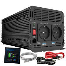 Inversor Convertidor DC 24V 3000W 6000 Watt AC 220V Inverter con USB Remote