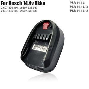 für Bosch Werkzeug Akku 2607336037 2607336038 1,5 Ah 14,4V PSR PSB 14.4 LI-2 Neu