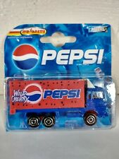 Pepsi Wild Cherry Delivery Box Truck Majorette 1:64 Die Cast