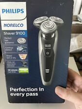 Philips Norelco 9100 Cordless Electric Shaver Trimmer S9161/83 Box Shelf Wear