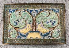 CALCO RARE Polychrome Tile Scenic California Batchelder
