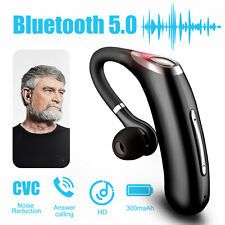 Wireless Headphone Headset Handsfree Earpiece Noise Reduction Microphone Earbuds