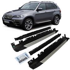 Trittbretter Schweller Seitenbretter Aluminium Set Satz für BMW X5 E70 Bj 07-12