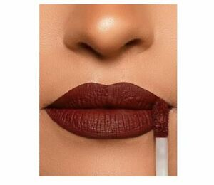 GARNET Dark Red CHOCOLATE Brown Matte Velvet Liquid Lipstick Waterproof Lasting