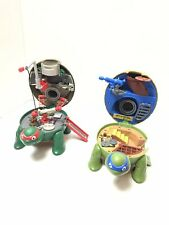 TMNT Mini Pocket Play Set 2016 Lot 2 Micro TMNT Viacom Playmates Toys