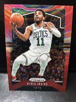 2019-20 Panini Prizm Basketball Kyrie Irving Ruby Wave #201 - Brooklyn Nets RC
