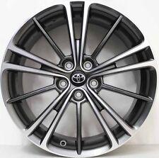 17 inch GENUINE TOYOTA 86 GT 2014 MODEL ALLOYS WILL ALSO SUIT SUBARU BRZ