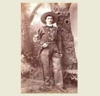 1880 Calamity Jane PHOTO, Buffalo Bill Wild West Show,Wild Bill Hickok Pal