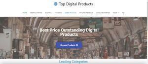 Established Clickbank Affiliate Blog Website- 3000 Products