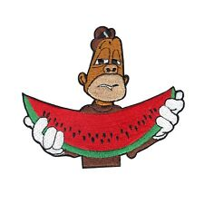 The Story Of O.J Jay Bo With Watermelon Iron On Embroidered Applique Patch
