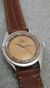UNIVERSAL GENEVE POLEROUTER AUTOMATIC TROPICAL DIAL WORKING