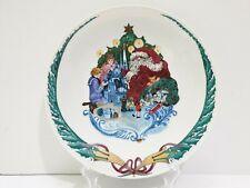 Royal Copenhagen Denmark Jingle Bells Gift Giving Salad/Dessert Plate