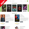 Books Audiobooks Affiliate Store Modern design Website for Sale Fully Automated