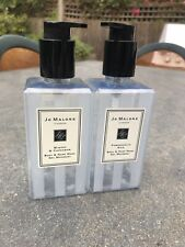 JO MALONE 2 x EMPTY 250ml Body And Hand Wash Gel Moussant *Props*