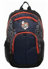 """Nintendo Super Mario Bros. 18"""" Backpack Laptop Sleeve School Bag New With Tags"""