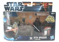 Hasbro Star Wars 2012 Sith Speeder With Darth Maul Figure 1032U