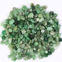 200g Bulk Tumbled Stones Green Aventurine Quartz Crystal Healing Mineral Decor